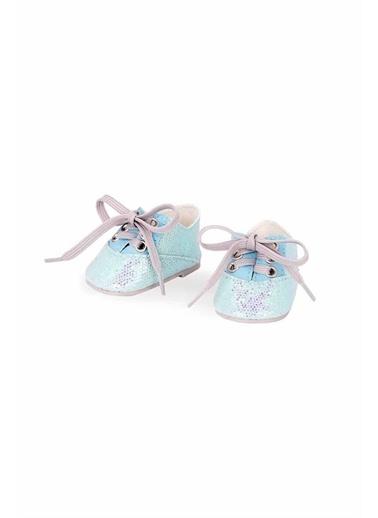 Our Generation Our Generation Parıltılı Bağcık Detaylı Oyuncak Bebek Ayakkabısı Renkli